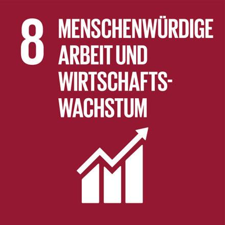 Nachhaltiges Wirtschaftswachstum und menschenwürdige Arbeit für alle